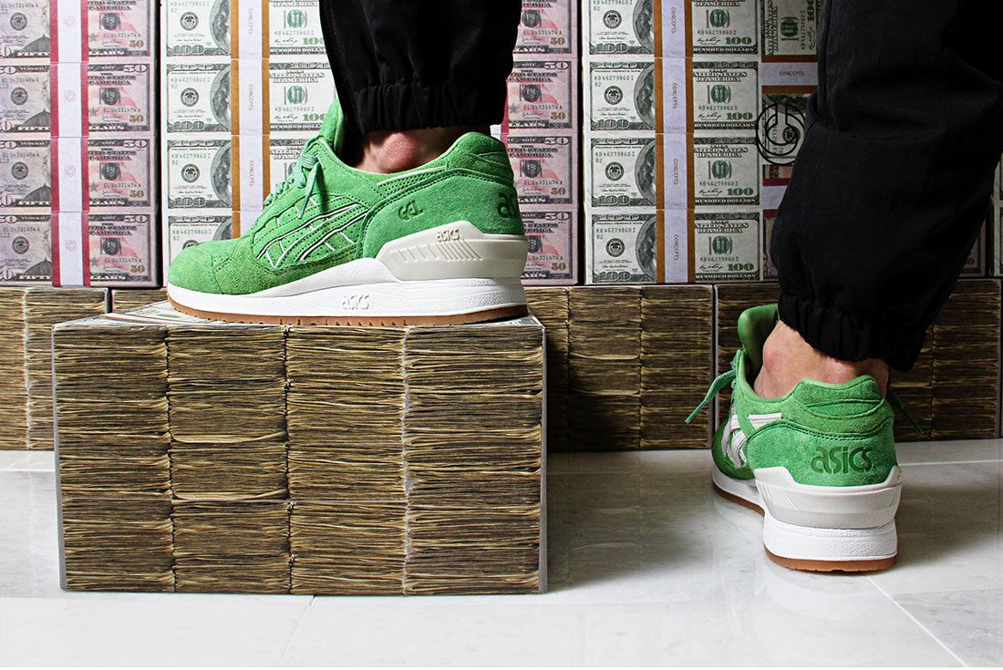 Asics Gel Respector With Money