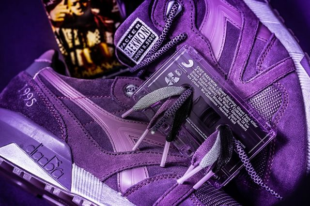 Raekwon X Diadora X Packer Purple Tape 3