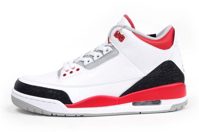 Air Jordan 3 Fire Red Profile