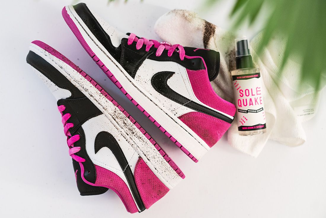 SOLEQUAKE Powerful Midsole Cleaner