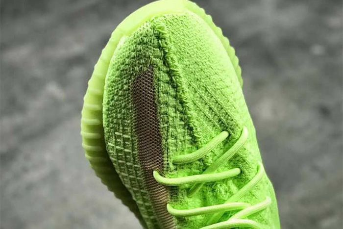 Adidas Yeezy Boost 350 V2 Green Glow In The Dark First Look