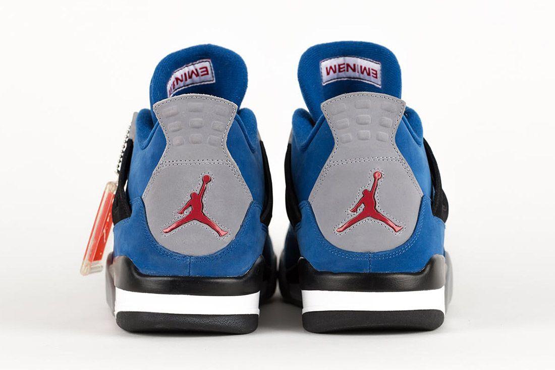 Air Jordan 4 Retro Eminem Encore 2017 Charity Campaign Sneaker Freaker 7