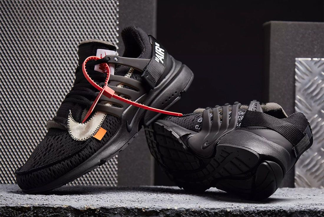 Off White Nike Presto Black Header