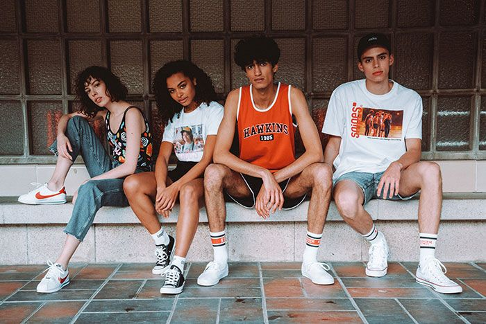 Snipes X Stranger Things Capsule Collection Promo Shots2