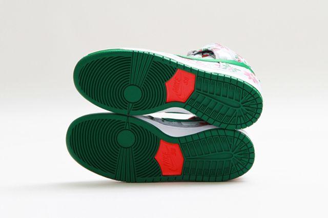 Concepts Nike Sb Dunk High Ugly Christmas Sweater 12