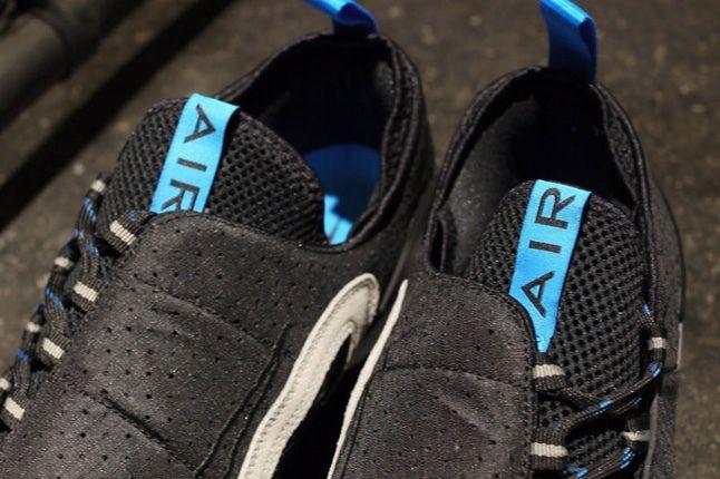 Nike Air Footscape Motion Grey Black Tongue Detail 1
