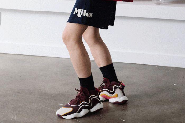 1Eric Emanuel Adidas Crazy Byw Burgundy 2