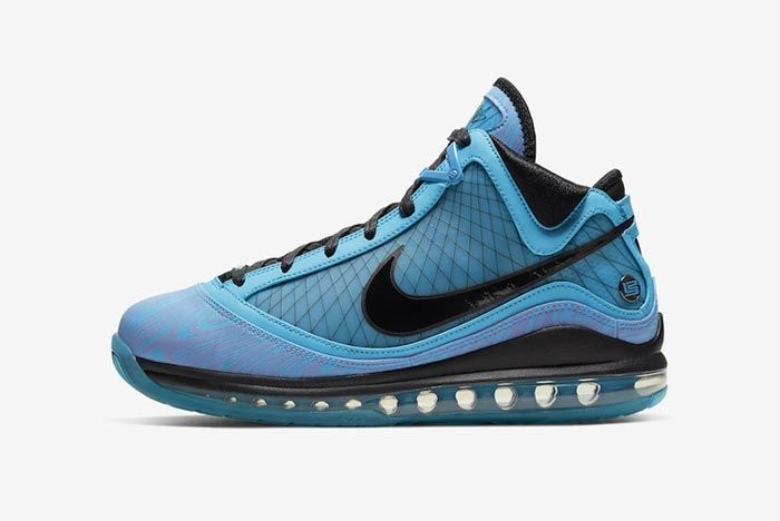 Nike Lebron 7 All Star Chlorine Blue Lateral