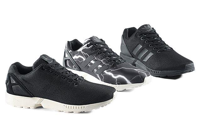 Adidas Originals Zx Flux Black Elements Pack 7