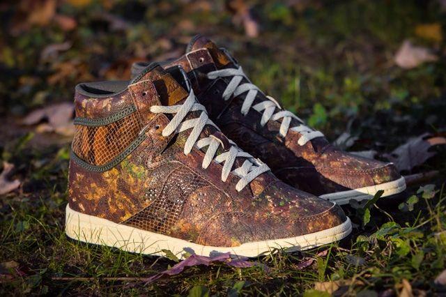 Packer Shoes Saucony Hangtime Woodland Snake 10