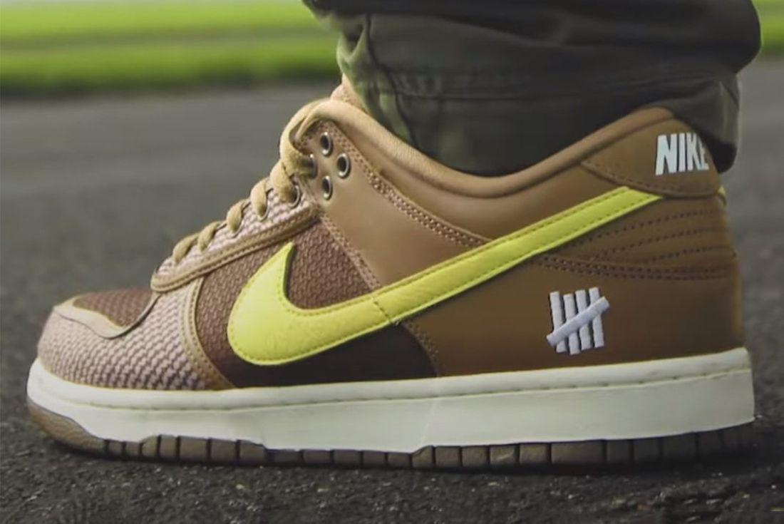 undefeated x nike dunk low 2021