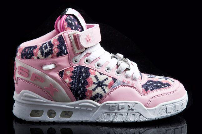Spx Street Kicks Mid Pink 1