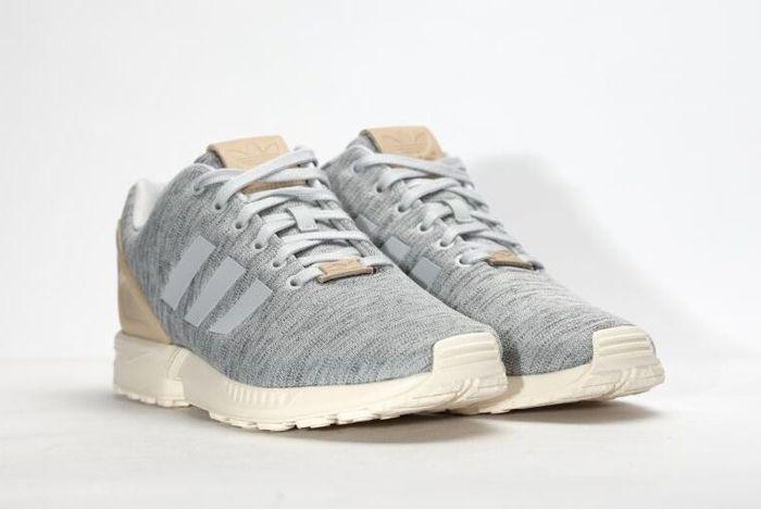 Adidas Zx Flux Solid Grey 4