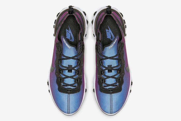 Nike React Element 55 Prm Laser Fuchsia Cd6964 001 Release Date Top Down