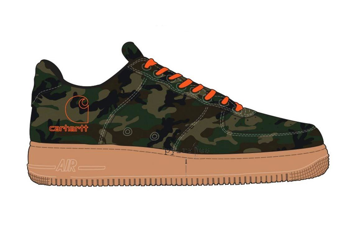 Carhartt Air Force 1 Sneaker Freaker