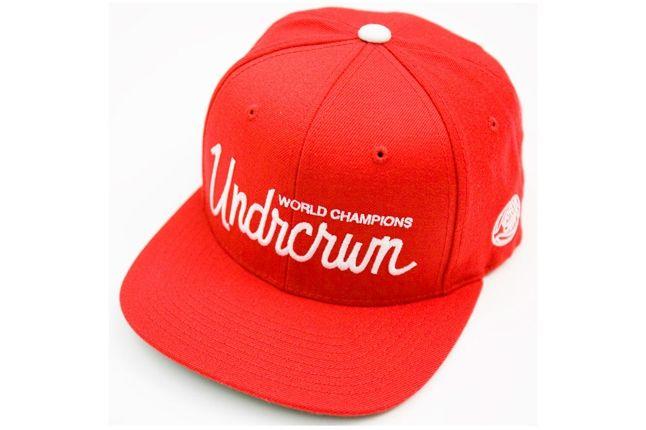 Undrcrwn X Starter Script Club Snapback Hats 4 1