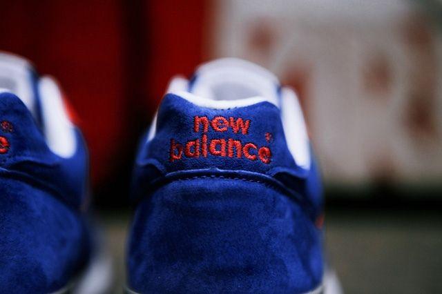 New Balance Wmns 576 Blue Red 7