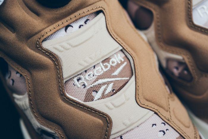 Reebok Pump Fury Tweed Brown Camo Sneaker Politics 3
