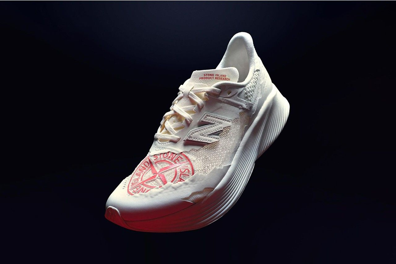 Stone Island x New Balance Tokyo Design Studio RC ELITE Running Shoe