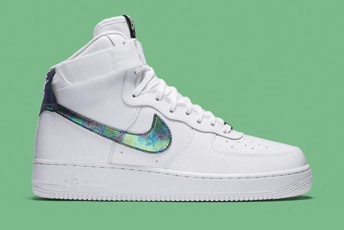 Nike Air Force 1 High Iridescent 2