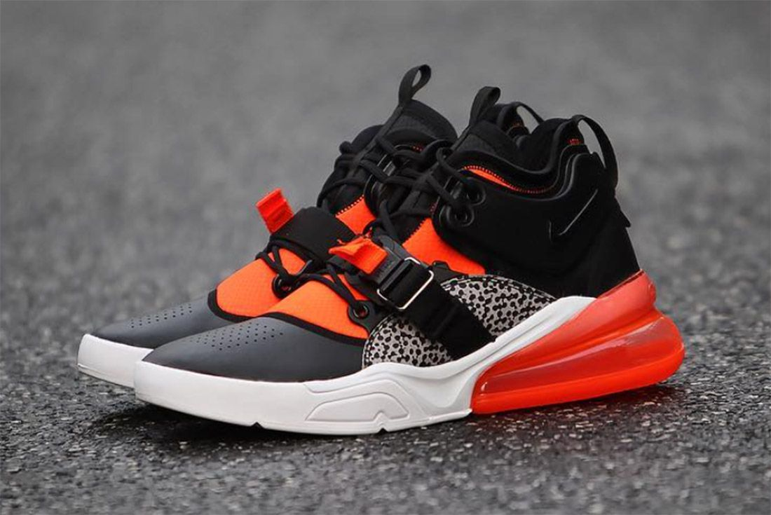 3 Nike Air Force 270 Safari Sneaker Freaker