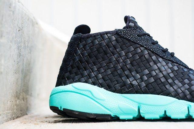 Nike Air Footscape Desert Chukka Black Turquoise 5