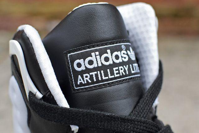 Adidas Torsion Artillery Lite Black White 3