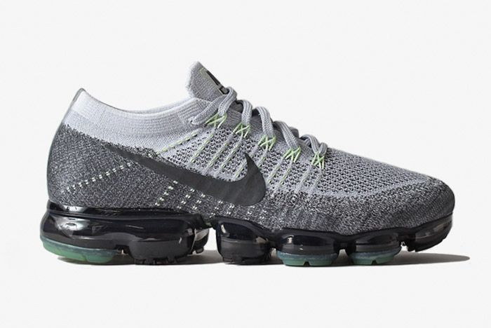 Nike Air Vapormax Grey Neon 1