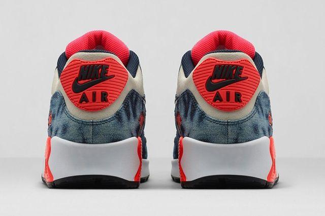 Nike Air Max 90 Qs Bleached Denim Bump 2