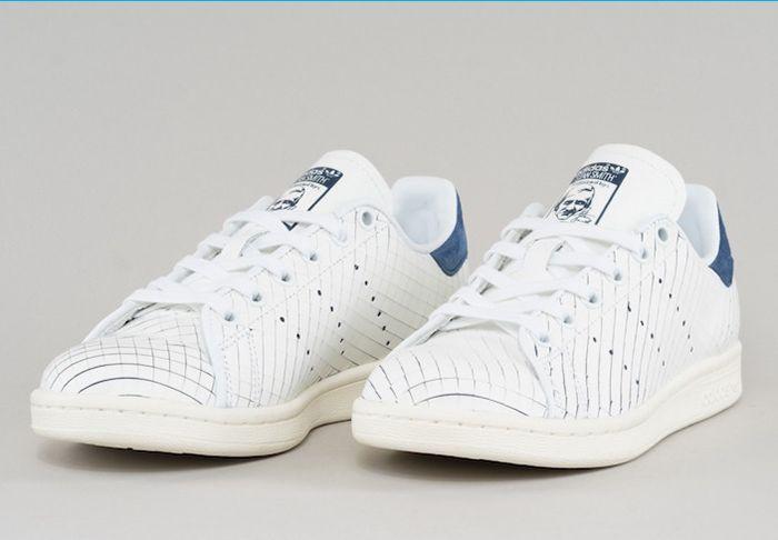 Adidas Stan Smith Sliced Leather 1