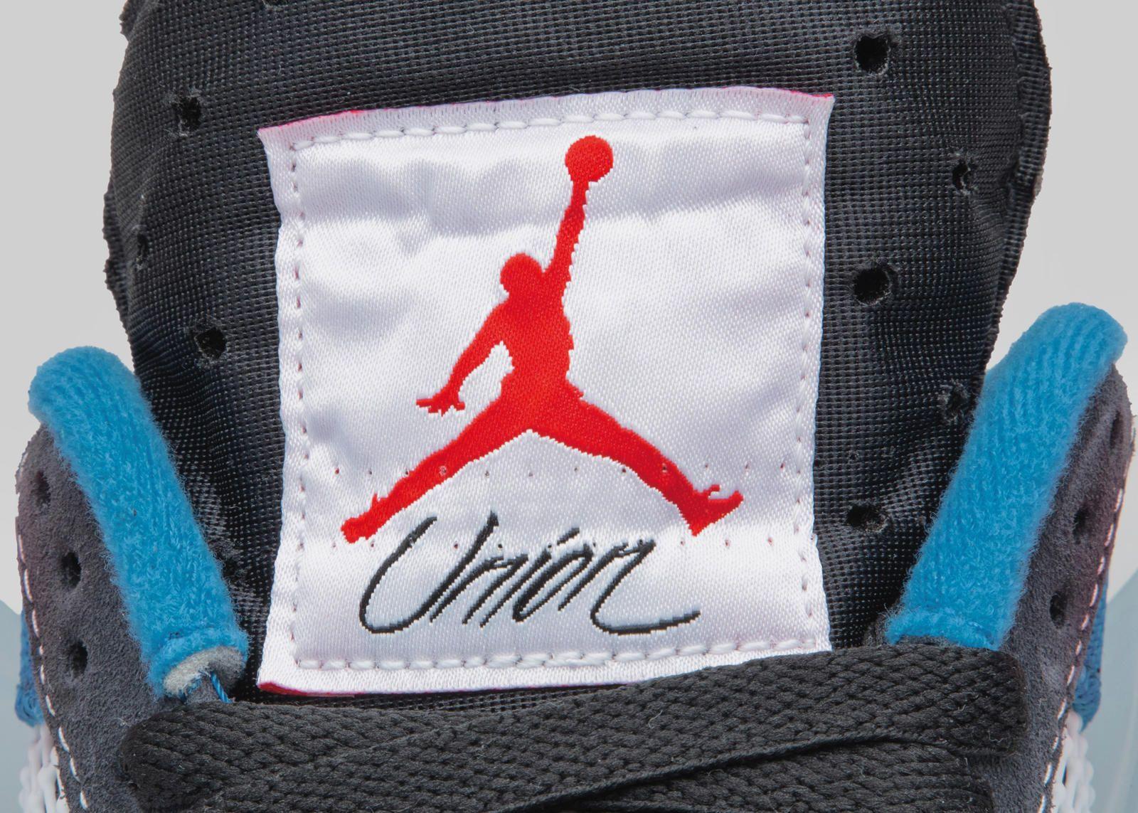 Union x Air Jordan 4 Off Noir
