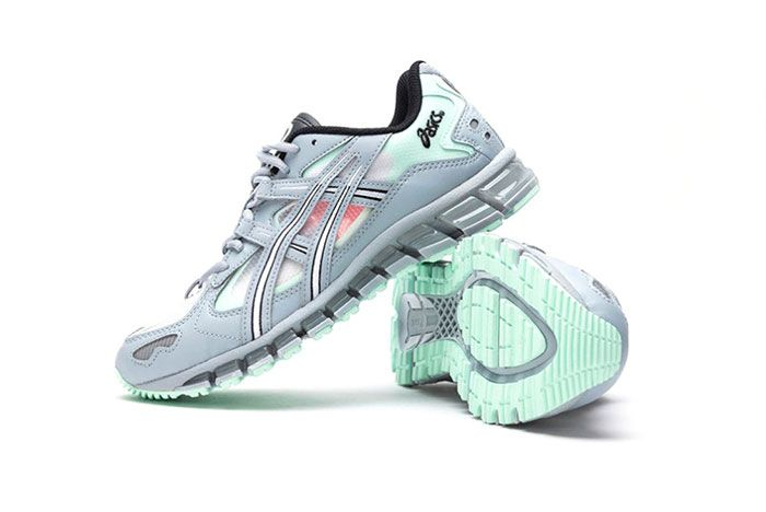 Asics Gel Kayano 5 360 Grey Mint Tint 1021A196 020 Stacked