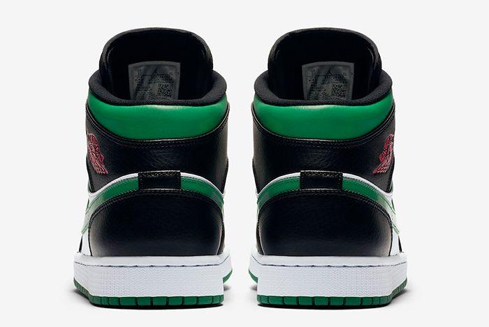 Air Jordan 1 Pine Green Heel