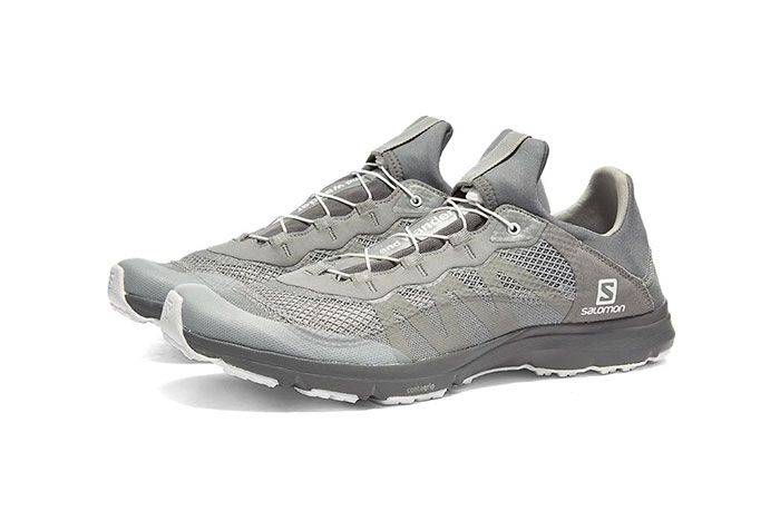 And Wander Salomon Xa Amphib Silver Lateral