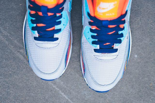 Nike Air Max 90 Prem Mesh Gs 724882 001 Sneaker Politics 3 1024X1024
