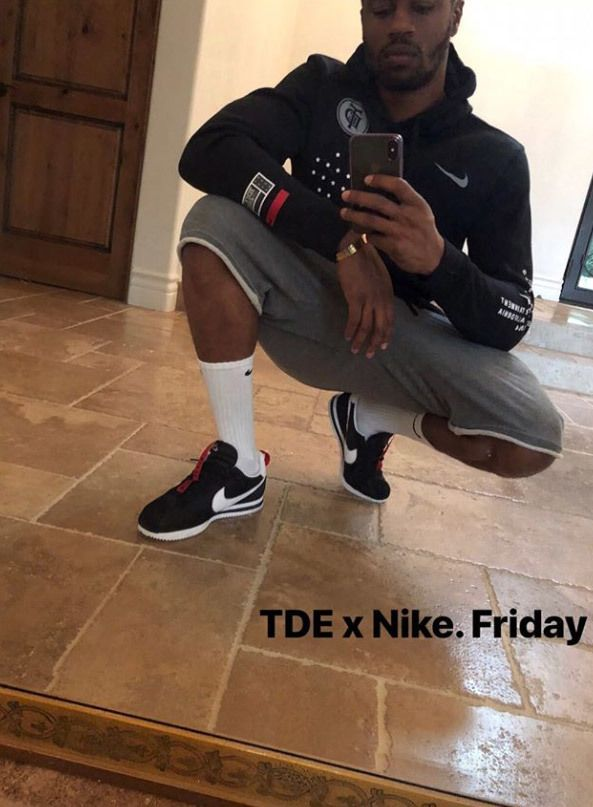 Kendrick Lamar X Nike Cortez 3 1