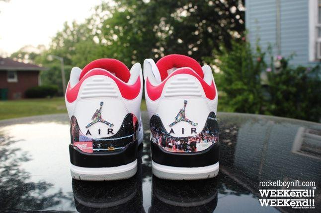 Rbn Custom Air Jordan 3 Dunk Contest 4
