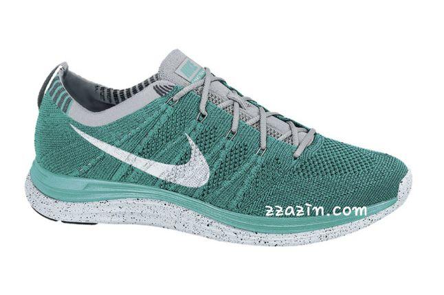 Nike Flyknit Lunar1 Teal Grey 1