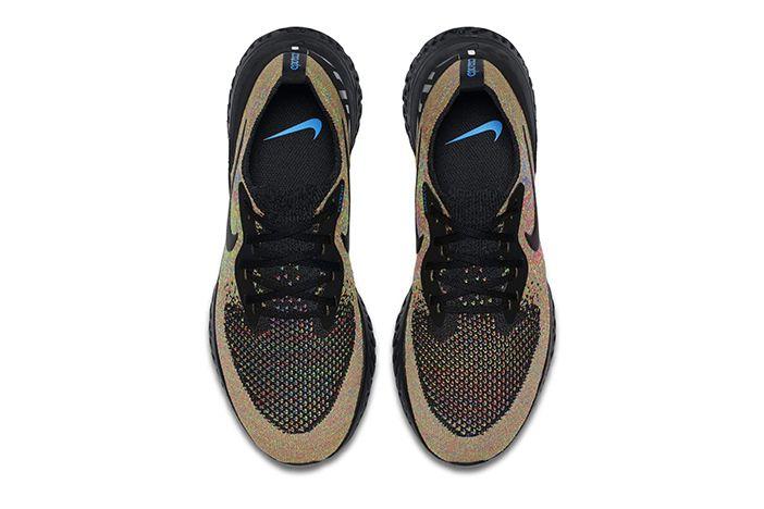 Nike Epic React Flyknit Multicolour Black 3