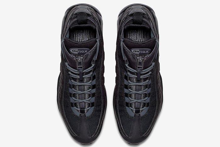 Nike Air Max 95 Sneaker Boot Triple Black 5