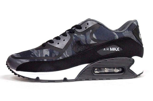 Nike Am90 Prm Tape Black Camo Profile 1