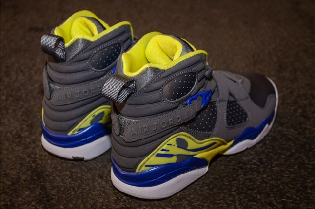 Air Jordan 8 Gs Laney Heel Profile 1