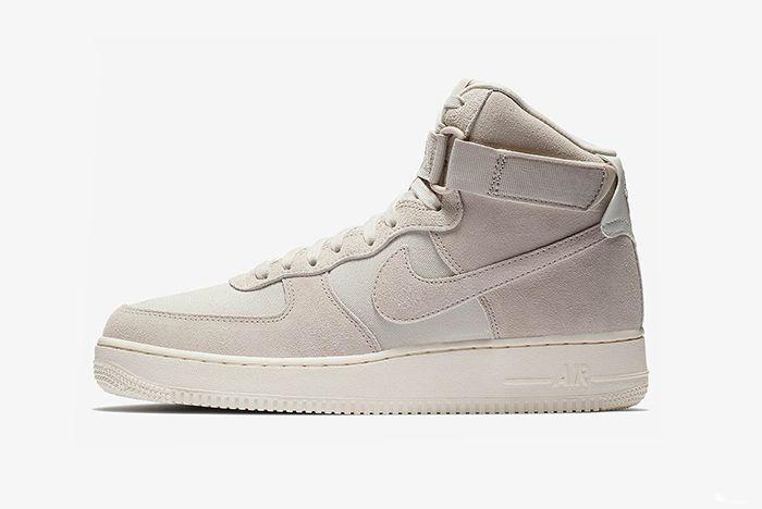 Nike Air Force 1 Hi Suede Pink Blue Yellow 2 Sneaker Freaker