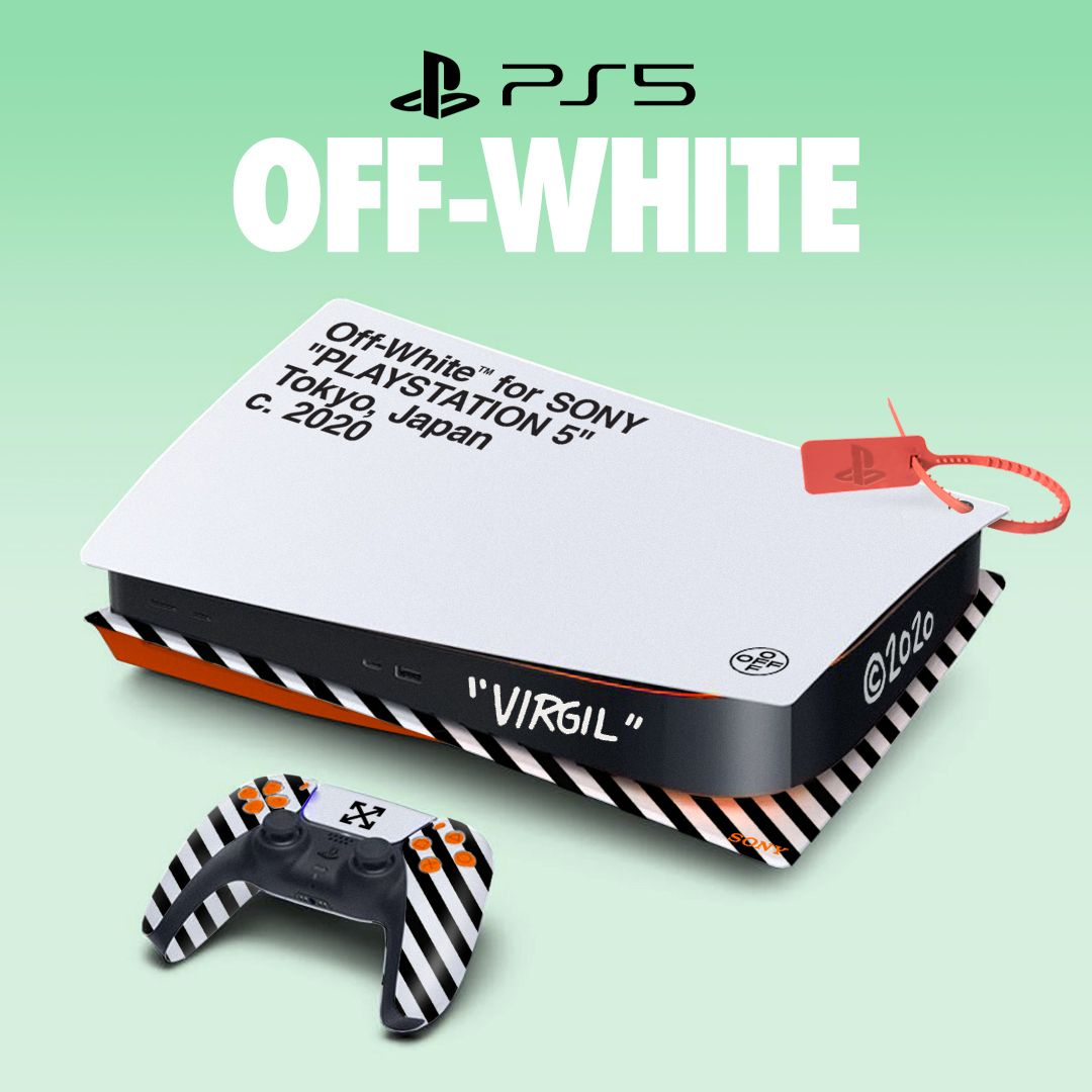 Off-White x PlayStation 5
