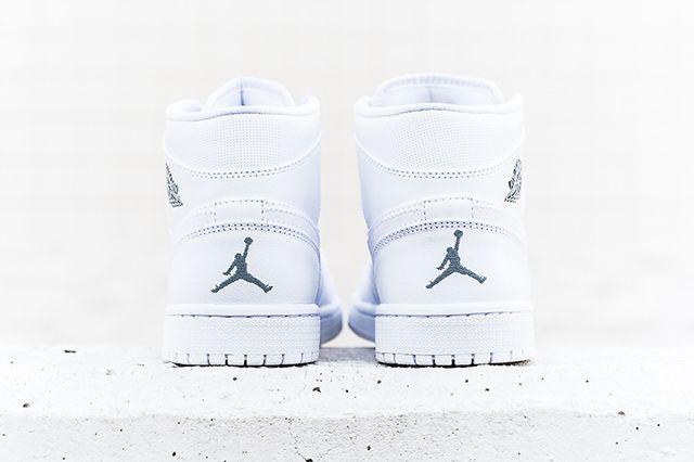 Air Jordan 1 Mid White Cool Grey 2