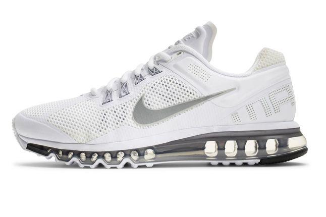 Nike Air Max 2013 White Side Profile 1