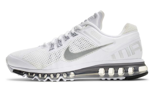 Nike Air Max 2013 White Side Profile 1