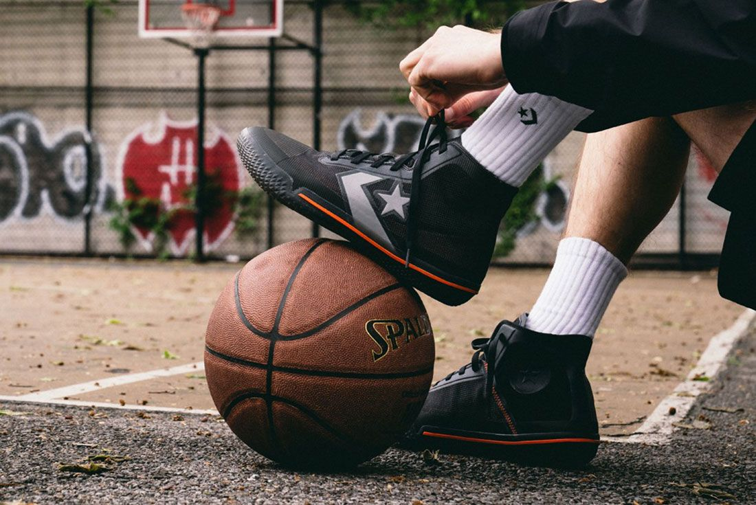 Converse All Star Pro Bb On Feet Court Look Details