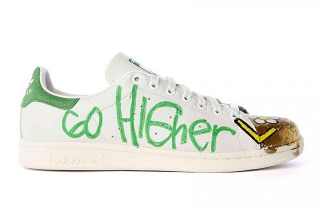 Pharrell Williams Hand Painted Adidas Originals Stan Smith 12