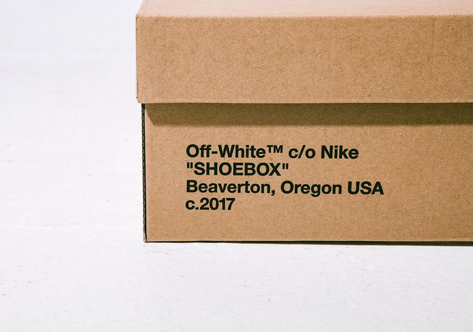 Air Jordan Off White Packaging 4 1